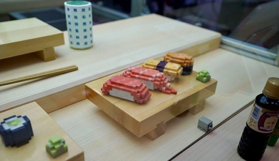 利用食物3D打印機打印壽司?