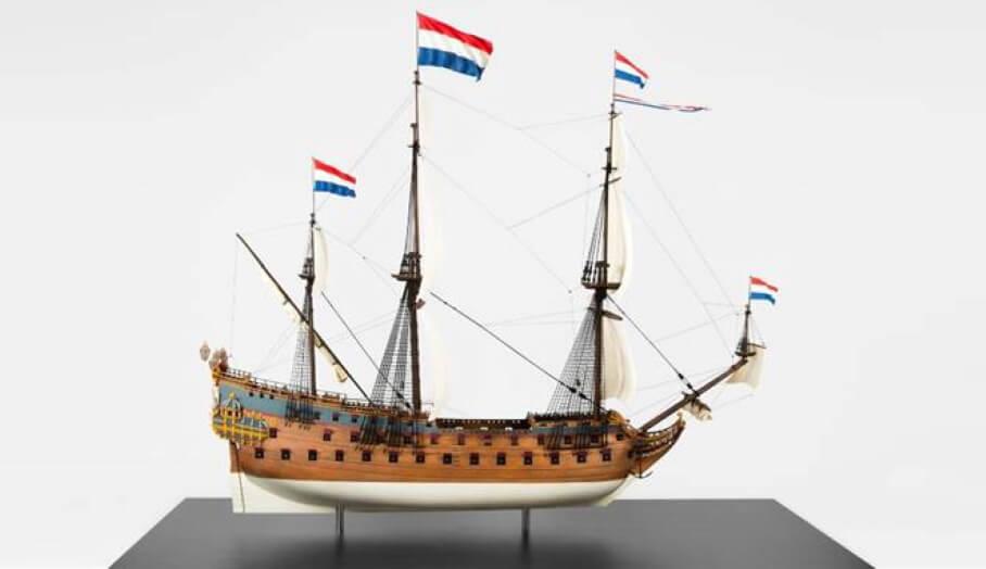 1.5米巨型模型船,一次過SLA 3D打印成型