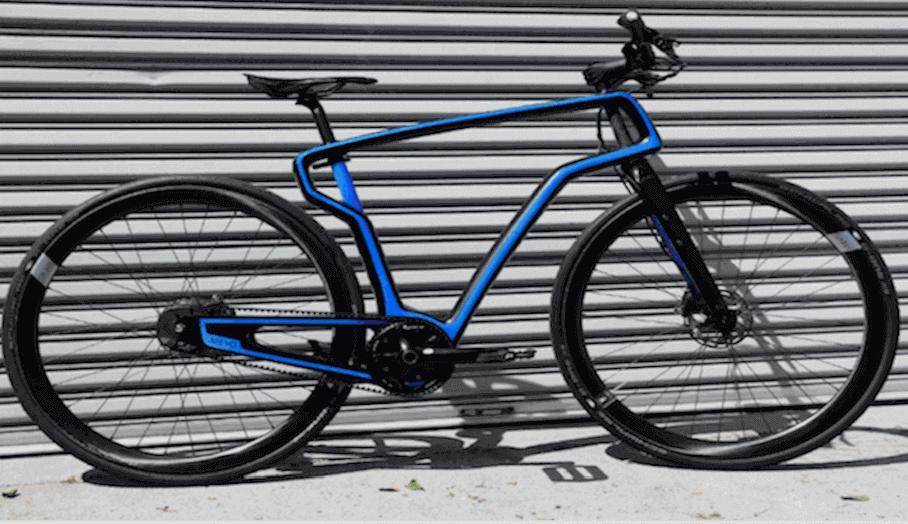 AREVO推出首款3D打印碳纖單車