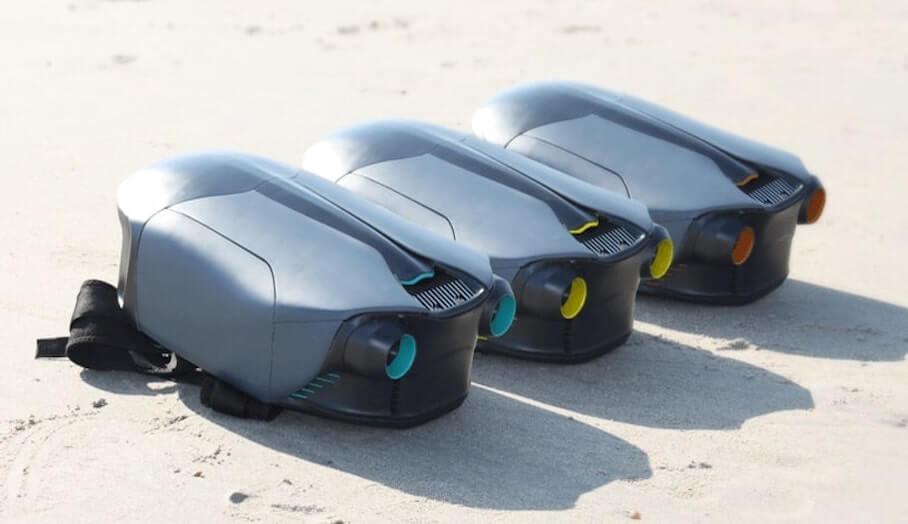 能在水底迅速潛游的3D打印推進裝置