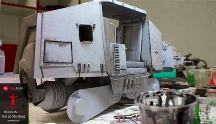 自製終極3D打印星戰模型