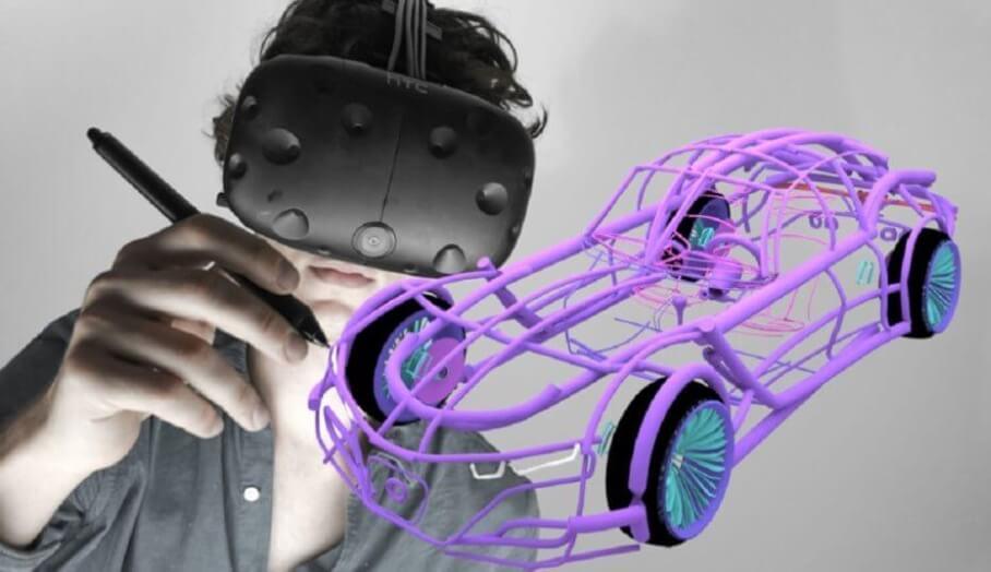 在3D虛擬空間內製作3D模型