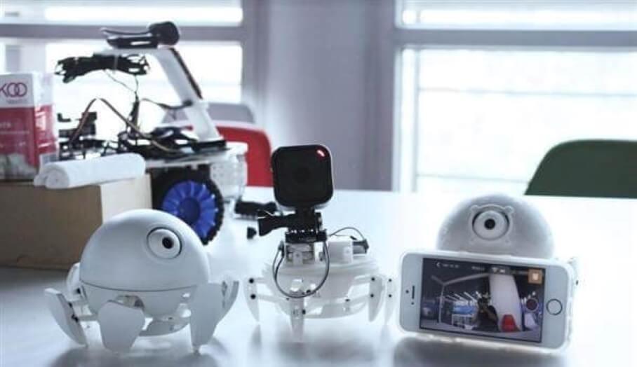 Xpider - 有物件識別功能的3D打印迷你Robot