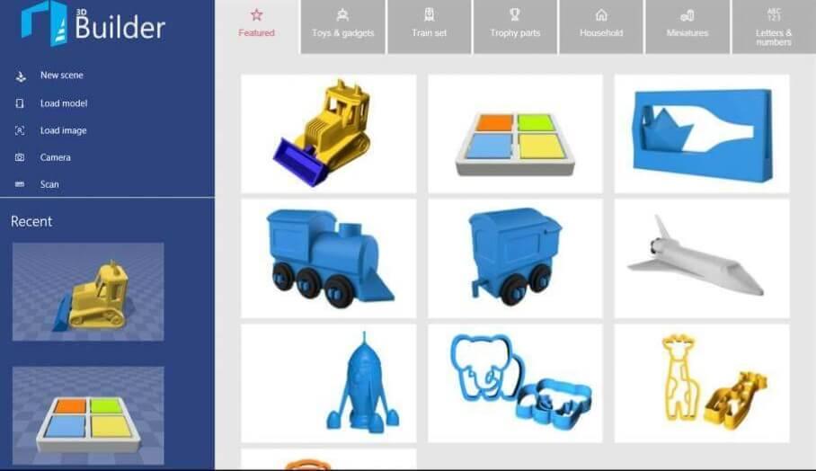 Microsoft新搞作- 推出手機版3D Builder App