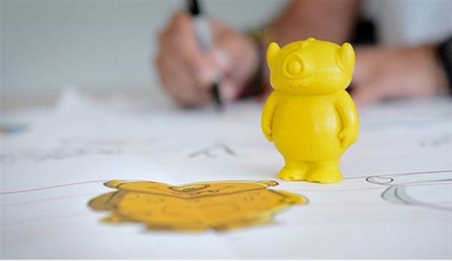 治療小朋友心靈的神奇3D打印蠟筆製作