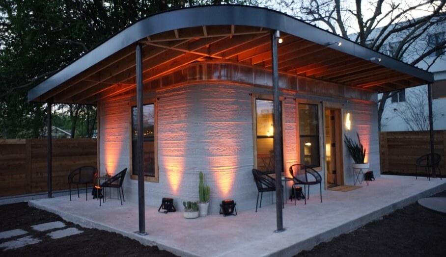 又便宜又好快建好的3D打印房子?