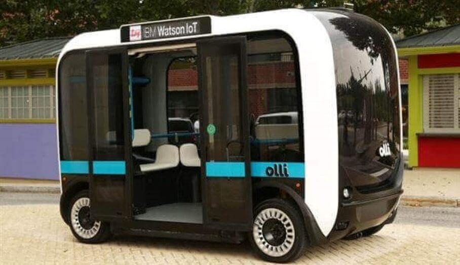 3D打印無人駕駛小巴