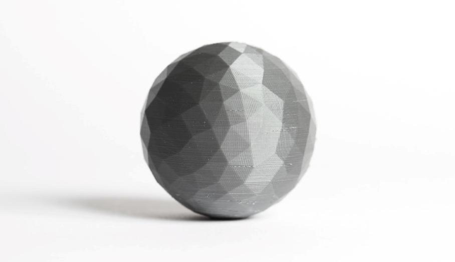 3d打印原理之為何打印出來的球體會起角?