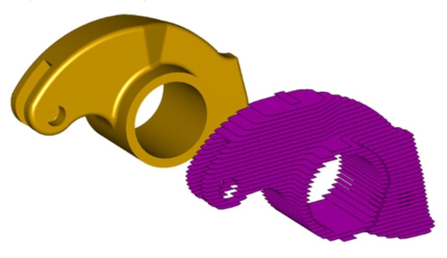3D檔案的打印切片(Slicing)處理