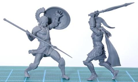 想製作細緻度極高的模型公仔?DLP 3D打印機就幫到手!