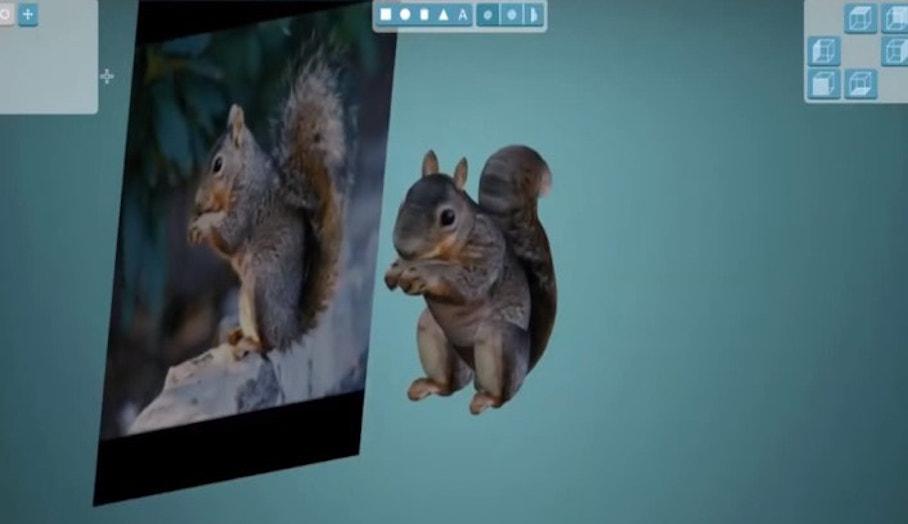 怎樣簡單利用2D照片製作彩色3D模型?