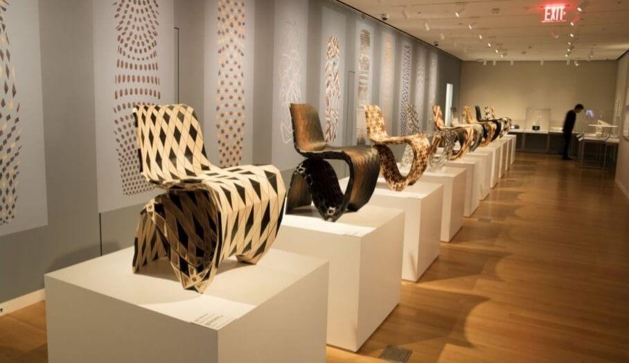 利用最新3D打印技術製作的家具設計