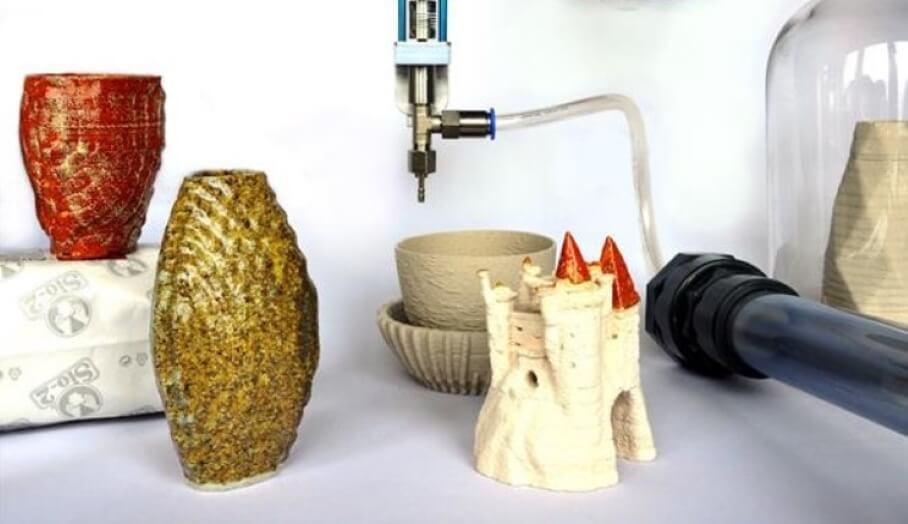 可將普通3D打印機變成陶瓷3D打印機的配件?
