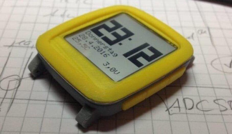 3D打印製作smartwatch好容易