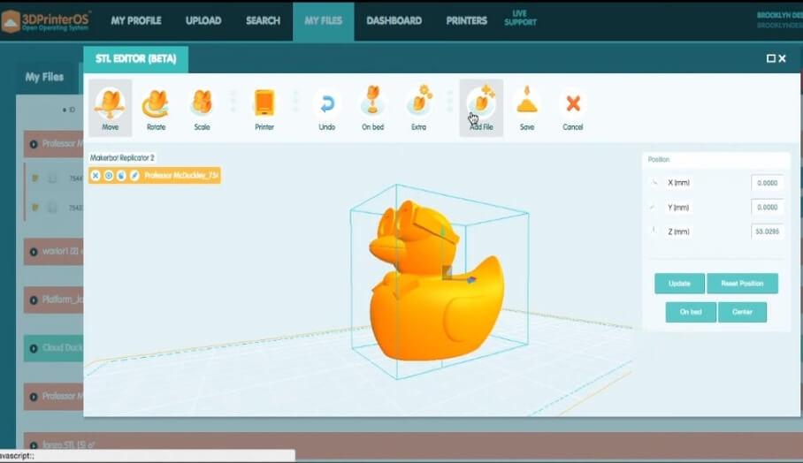 使3D打印傳輸更方便的雲端平台- 3D PrinterOS