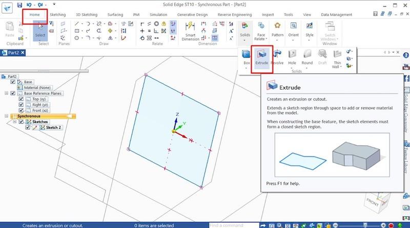 如何在Solid Edge 製作基本3D模型?