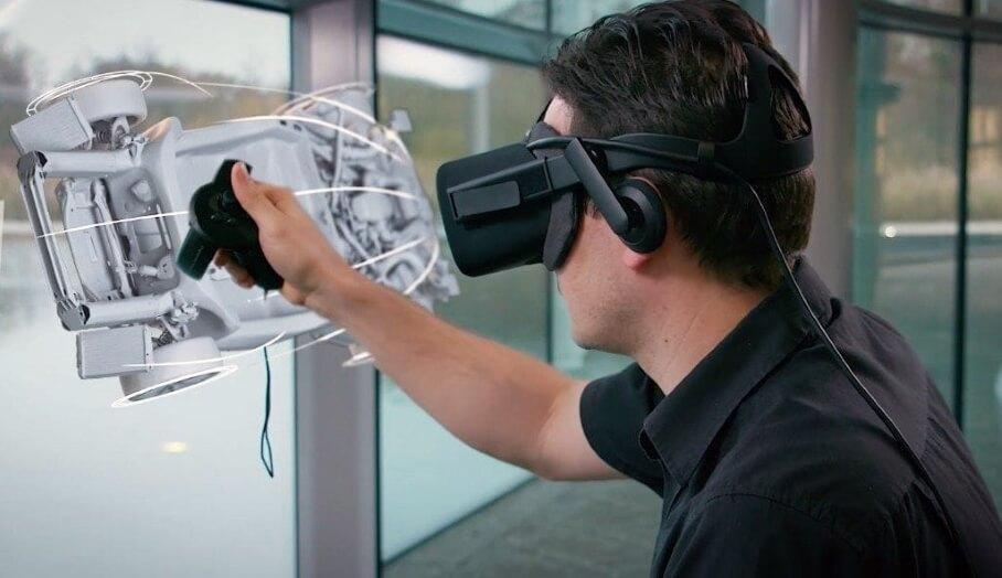 利用VR虛擬實景設計跑車?