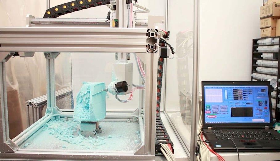 5軸3D打印機?