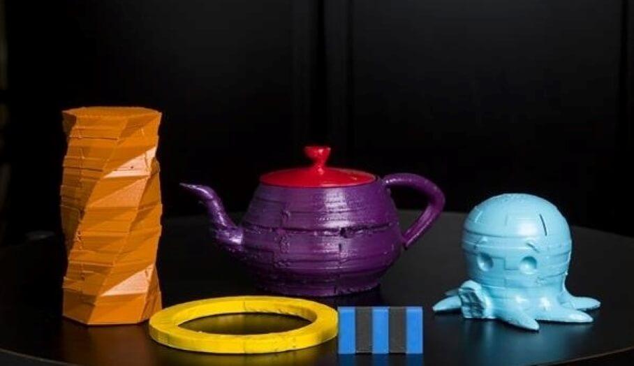 不需要電子零件就可WIFI 通信的新3D打印物件