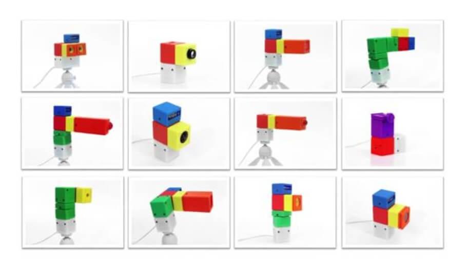 模組式設計,像積木一樣的超多功能3D打印相機