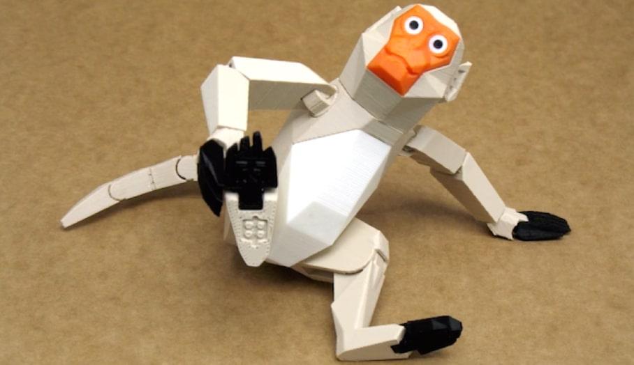 3D打印獼猴迎接新猴年