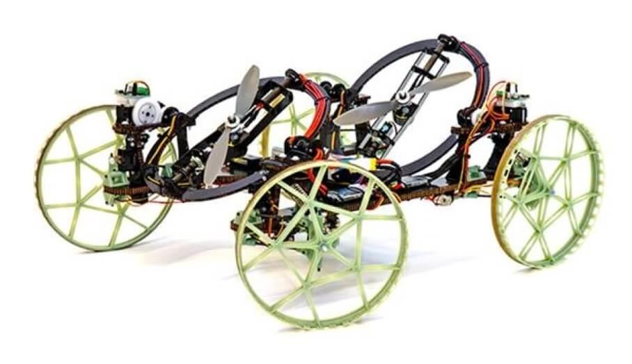 厲害!迪士尼推出可爬墻的3D打印螺旋槳遙控車