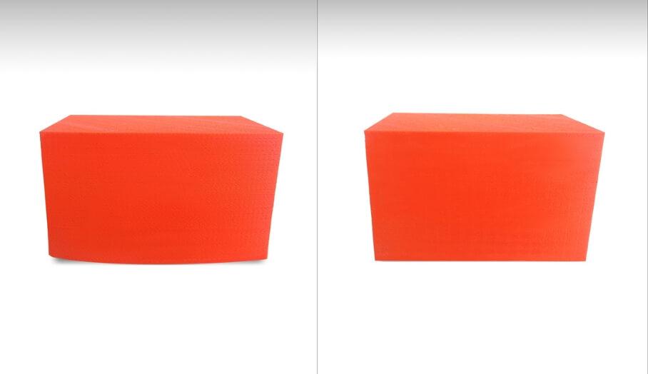 PLA Warping 測試及處理方法