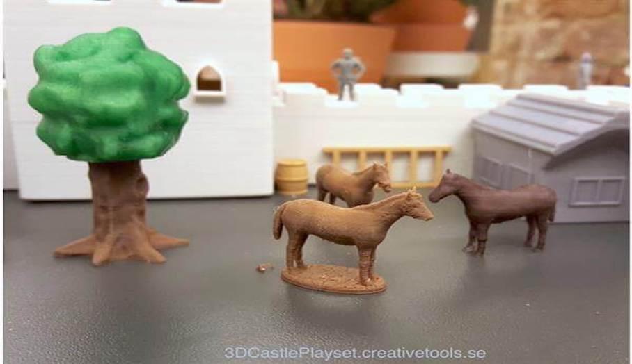 不用再買玩具?任你3D打印的兒童玩具組件