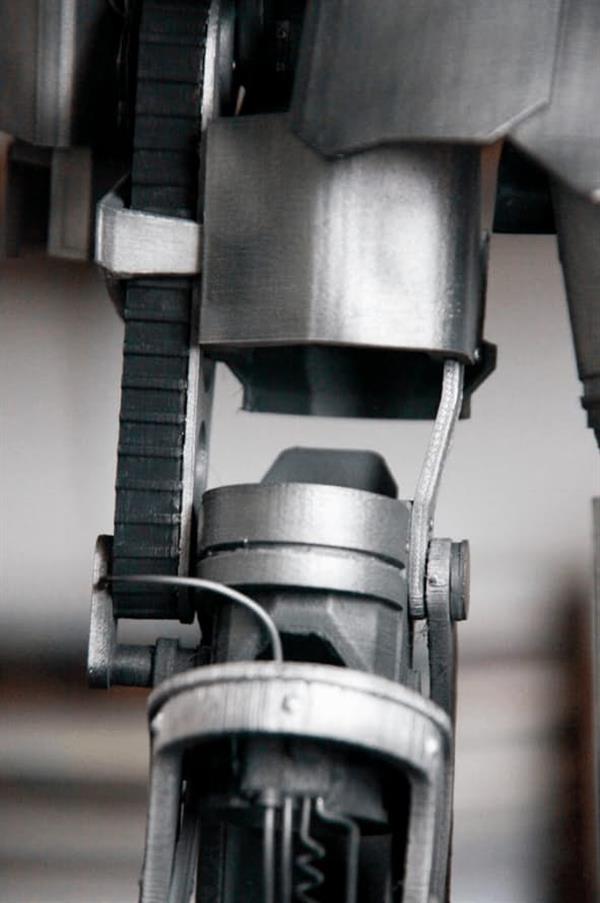 隨意3D打印不同體積的機械人