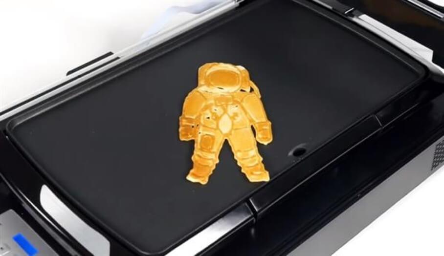 3d打印食物 - 製作3D Pancake好容易