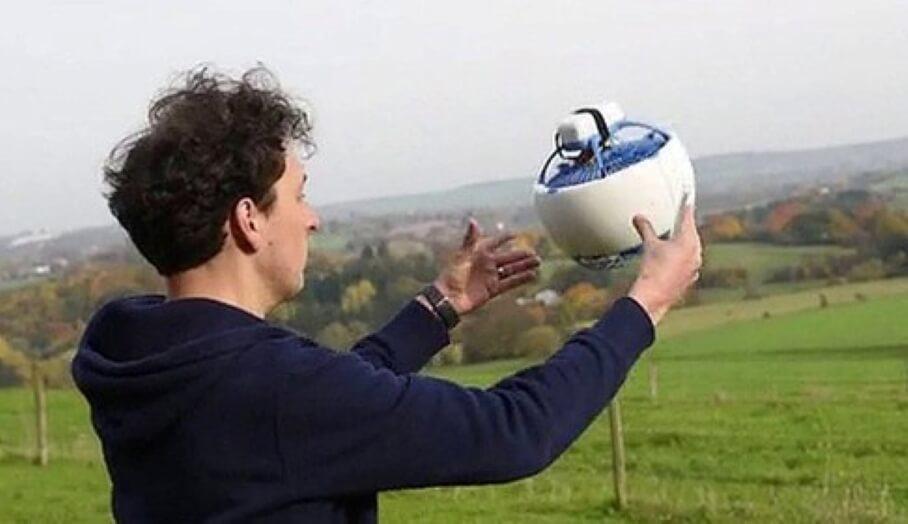 更安全更親民的3D打印無人機Fleye