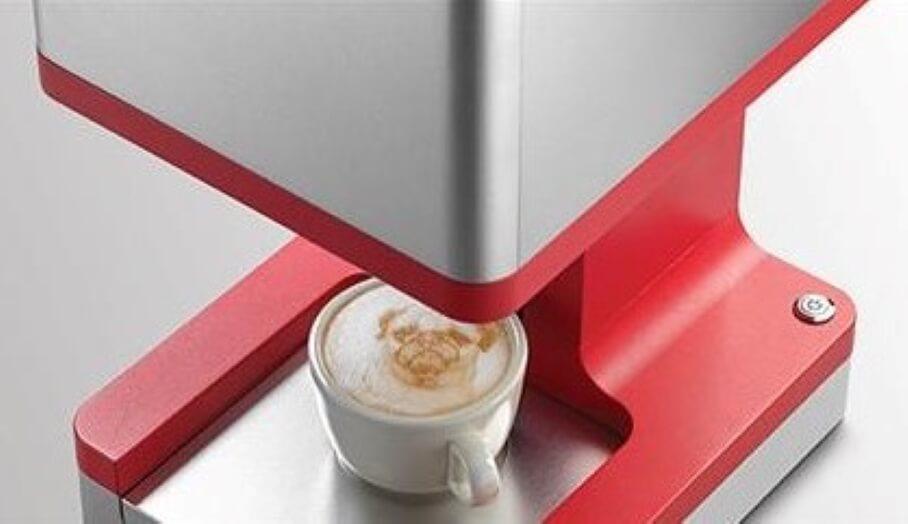 Ripple Maker – 用手機APP 3D打印你的咖啡拉花