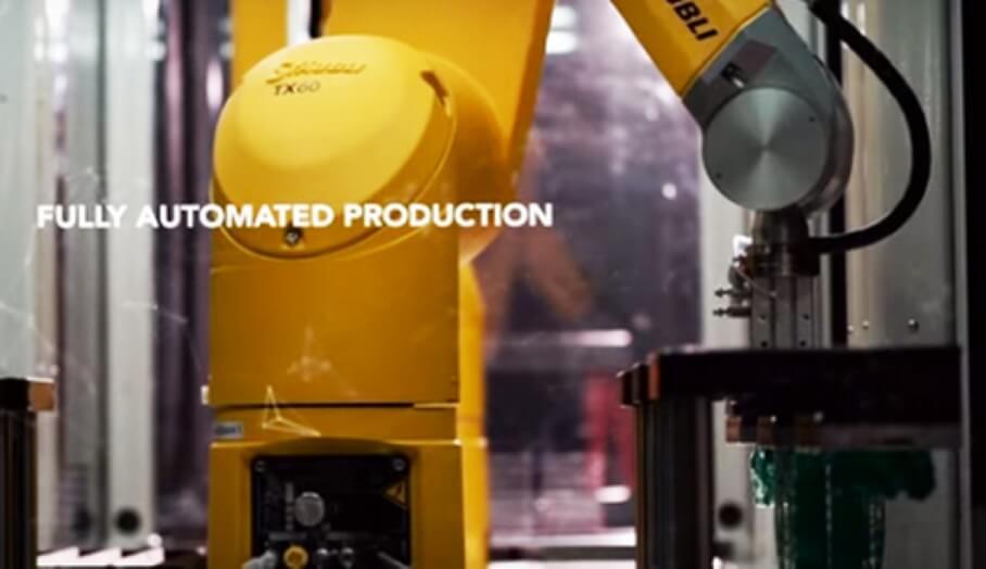 未來生產線 ,全自動化3D打印