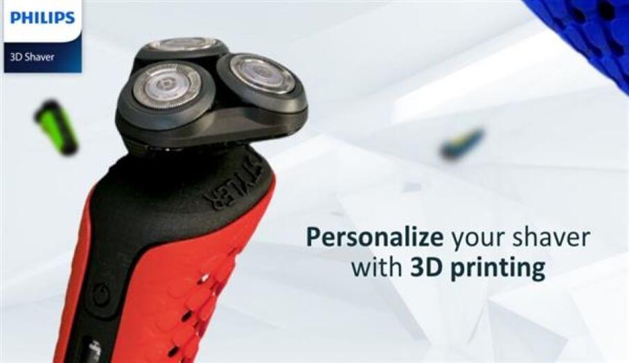 Philips 全球第一款3D打印電動剃鬚刨已網上發售