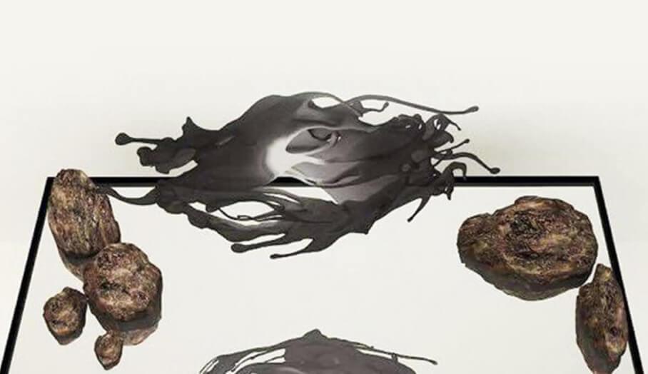 利用3D打印捕捉中國水墨畫的一瞬間
