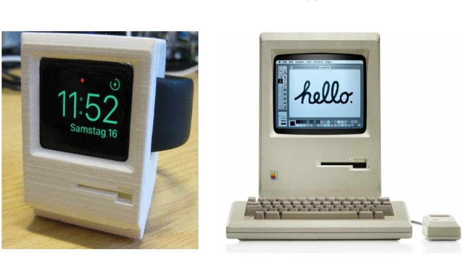 將你的APPLE Watch變成復古版APPLE Mac機