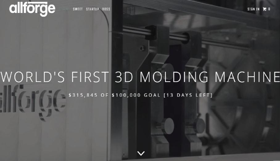 首部桌面式3D注塑機 -將屋企變成生產工場