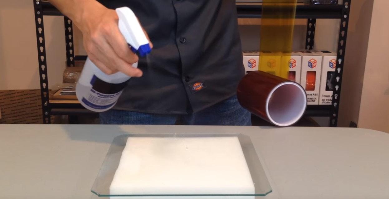 怎樣使用增強ABS黏附力的Kapton膠紙呢?