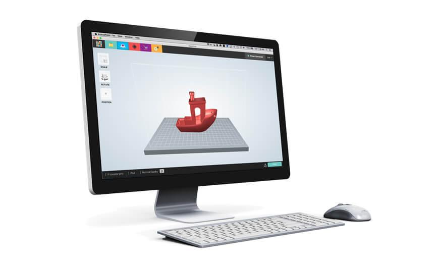 新一代3D打印雲端平台 AstroPrint Desktop