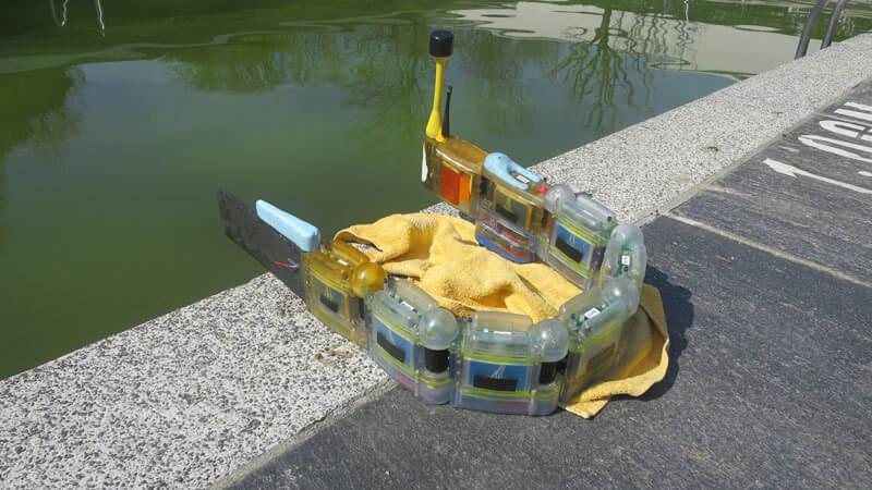 這隻蛇形3D打印機器人用來做什麼?