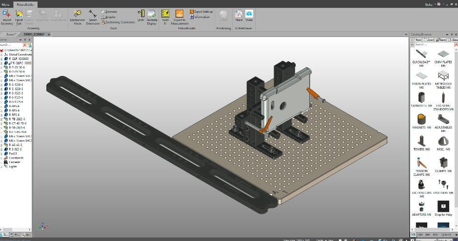 FixtureBuilder—讓你輕鬆設計夾具的3D軟件