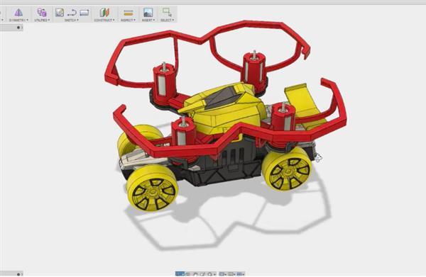 知名創客完成超巨型Hotwheels 3D打印模型車