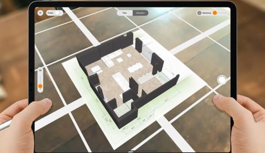 Morpholio AR SketchWalk – 讓你走進你的3D房屋草圖中