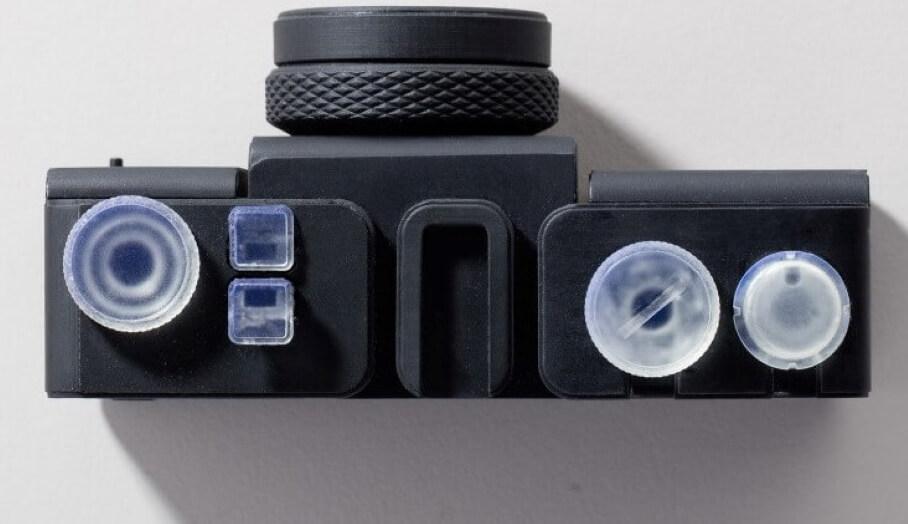 100% 3D打印的相機