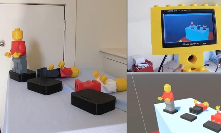 巨型3D打印LEGO槍結合虛擬實景技術可以做些什麼?