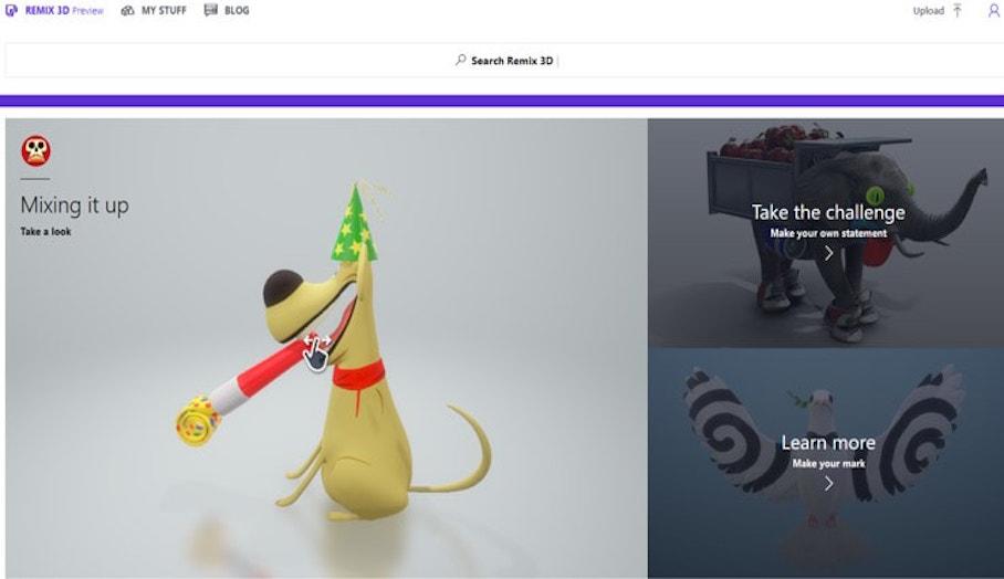 讓你輕鬆製作及分享的3D模型下載平台-Remix3D