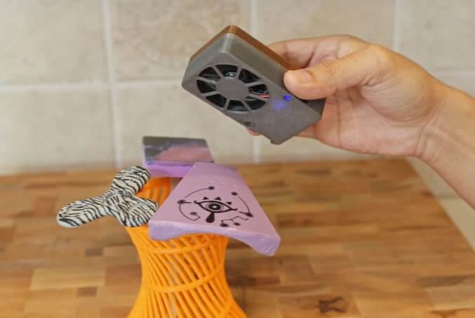 利用水轉印令3D打印模型變彩色