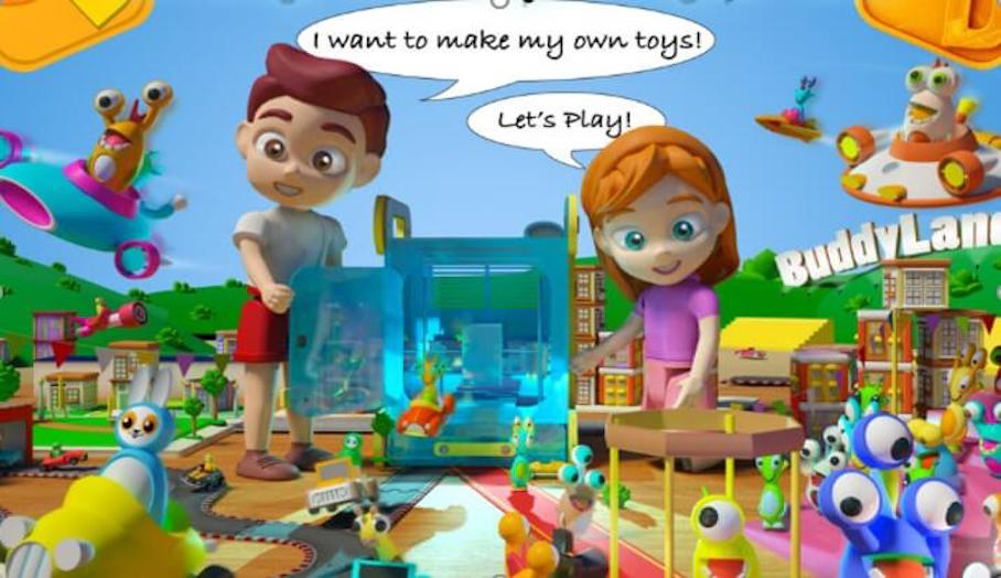 讓小孩子可自行學識3D打印的小小教材