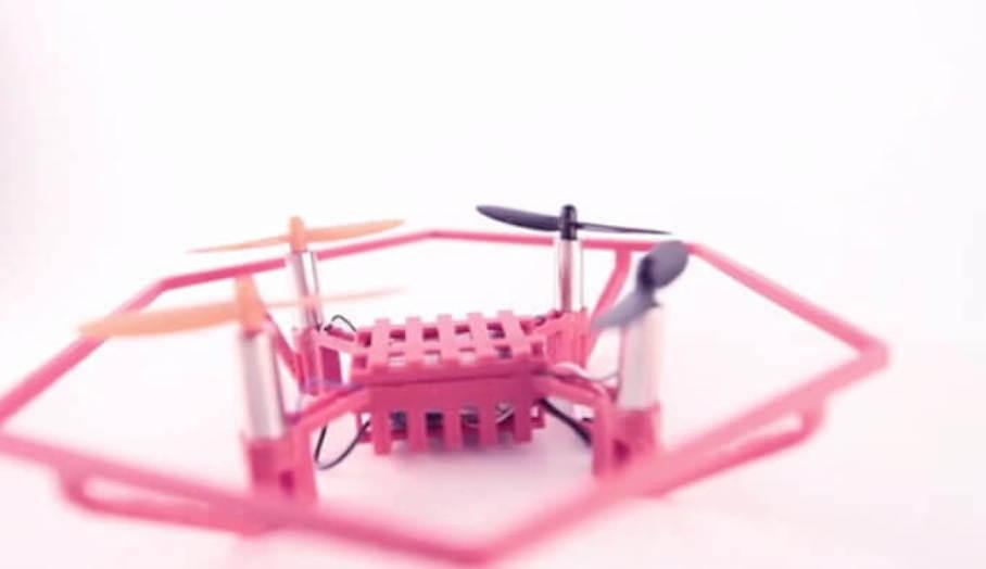 小朋友Stem課程學整3D打印無人機