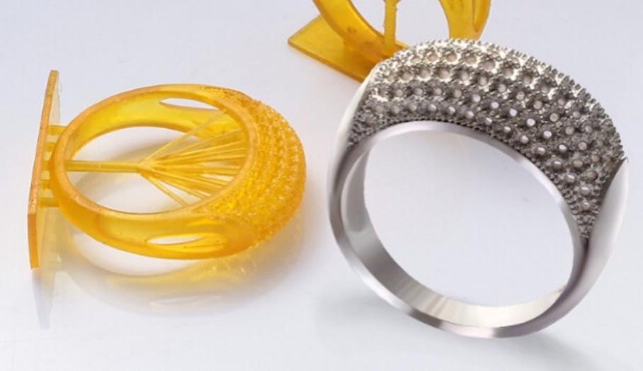 利用DLP光固化3D打印機可製作戒指?